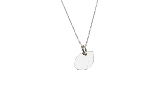 Necklace with Lemon