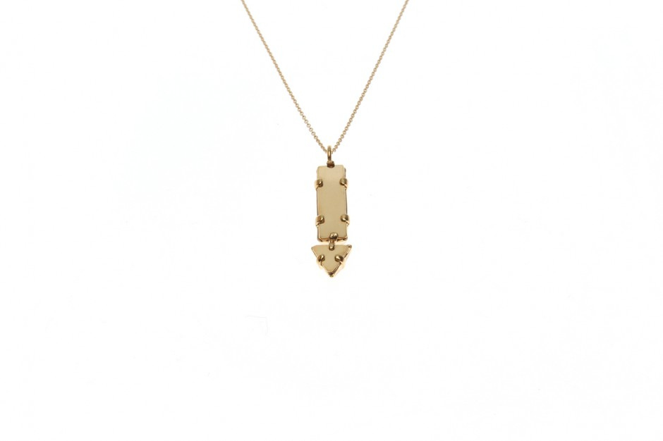 Necklace Fine Dart Crystal Small