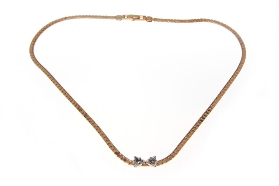 NECKLACE WITH BOW XS