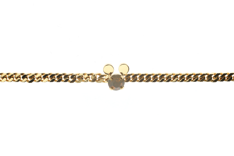 Curb bracelet with mouse S