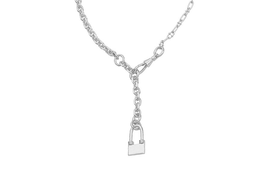 INGENT necklace silver