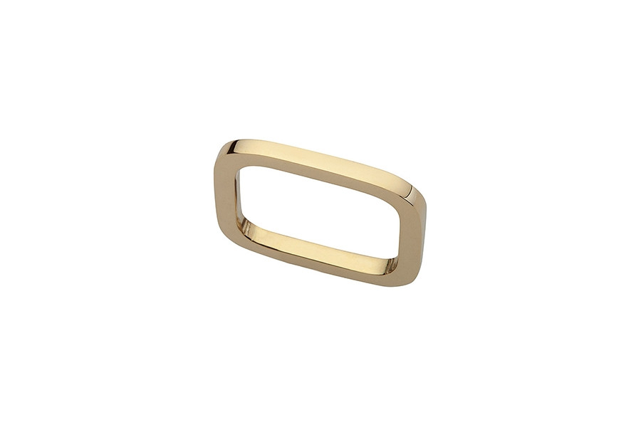 RING SUPERFINE BLANK 14ct gold