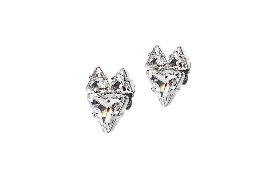 THE FOX EARRINGS silver